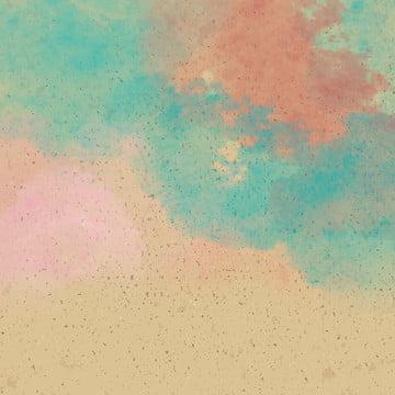 水彩画 グラデーション 汚れ テクスチャ , テクスチャ, 水彩画, 黄色い紙 背景画像