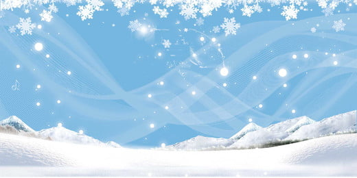 winter snow background picture, Winter, Snow, Taobao Background Background image