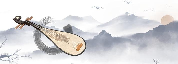 संगीत वाद्ययंत्र परिदृश्य प्राचीन, पोस्टर, संगीत वाद्ययंत्र, पृष्ठभूमि पृष्ठभूमि छवि