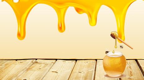 delicious honey delicious honey bees, Banner, Honeycombs, Trip Imagem de fundo