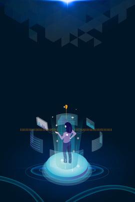 रोबोट पोस्टर कृत्रिम बुद्धिमत्ता फंतासी प्रौद्योगिकी ज्यामितीय फंतासी , फंतासी प्रौद्योगिकी, सामग्री, रोबोट पृष्ठभूमि छवि