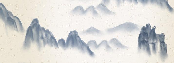 大氣 岩石 山水 拉桿箱海報, 大氣, 電器, 新品 背景圖片