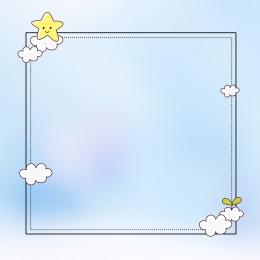 baby diaper promotion main map , Blue Background, Flat, Minimalist Background image