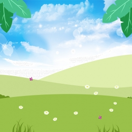 baby diaper promotion main map , Simple, Small Fresh, Grass Background Background image