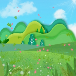 baby laundry liquid promotion main map , Green Background, Simple, Childlike Background Background image