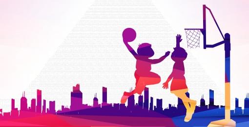 Basketball sports competition social Simple Equipment Discount Imagem Do Plano De Fundo