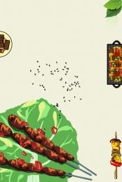 बीबीक्यू भोजन भोजन कोकिला , पोस्टर, स्वादिष्ट, कोकिला पृष्ठभूमि छवि