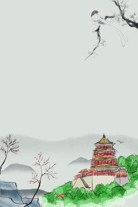 बीजिंग बीजिंग पर्यटन बीजिंग संस्कृति बीजिंग छाप , , समर, समर पैलेस पृष्ठभूमि छवि