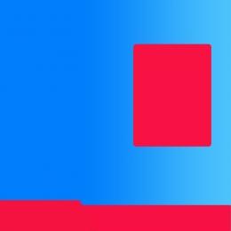 파란색 배경 평면 모바일 카드 프로모션 교통 카드 프로모션 , 배경, 파란색 배경, 모바일 카드 프로모션 배경 이미지