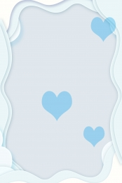 blue love small fresh kite , Small Fresh, Relaxed, Ps Source File Imagem de fundo