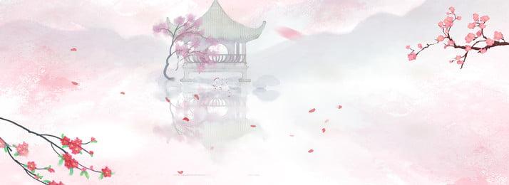branch peach flower background free download, Peach Blossom Background, Free Download, Elegant Background image