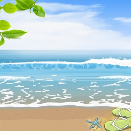सरल छोटे ताजा गर्मियों में पदोन्नति सैंडल पदोन्नति , Taobao मुख्य तस्वीर, समुद्र तट पृष्ठभूमि, प्रचार पृष्ठभूमि छवि