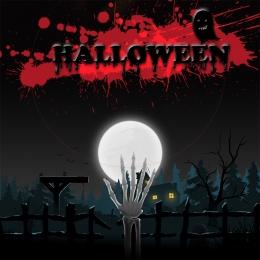 dibujos animados fantasía halloween cartel de carnaval , Fantasía, Halloween, Noche Imagen de fondo