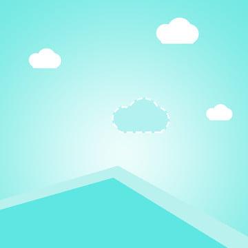 Cartoon summer swimming blue Swimming Map E Imagem Do Plano De Fundo