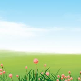 シンプル 小さな新鮮な 草の背景 空の背景 , メイン画面の背景, 淘宝網メイン画面, イベントプロモーション 背景画像