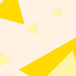 黄色の背景 フラット 幾何学 子供のおもちゃ , 黄色の背景, メインマップの背景, 幾何学 背景画像