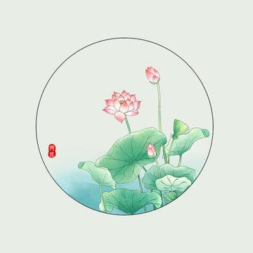 中国風の背景 エレガントな背景 蓮の葉の背景 蓮 , 中国風の背景, 淘宝網, エレガントな背景 背景画像
