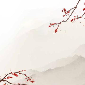 中国風の背景 インクの背景 エレガントな背景 フードプロモーション , 中国風の背景, 淘宝網, 漢方薬 背景画像