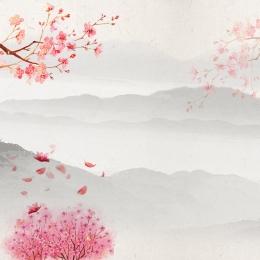 中国風の背景 インクの背景 エレガントな背景 筆 , インクの背景, 研究の4つの宝物, 電車の中 背景画像