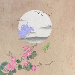中国風のメイン画像 レトロなメイン画像 手描きの花 健康 , 手描きの花, 薬用材料, 淘宝網 背景画像