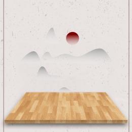 中華風 お茶 プラットフォーム エレガント , インク, メインの絵, 中国風茶プラットフォーム 背景画像