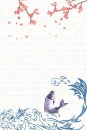 vector nhật bản cổ điển ukiyo e , Koi, Văn Học, Nền Ảnh nền