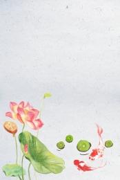cổ điển cổ ukiyo e koi , Cổ, Koi, Kết Cấu Biển Ảnh nền