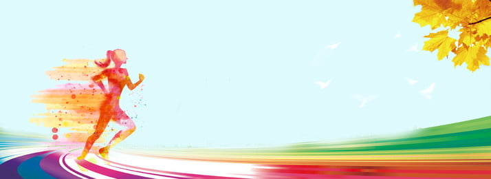 color dynamic line creative sports poster background material, Color, Dynamic Lines, Advertising Design Template Background image