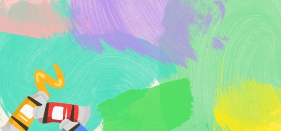Màu Biểu ngữ Sơn Màu Smudge Hình Nền