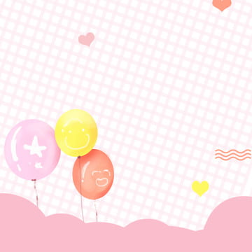 Colorful balloons pink background minimalistic background maternal and child products Products Through Train Imagem Do Plano De Fundo