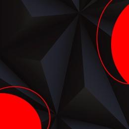 コントラスト背景 幾何学的背景 黒の背景 赤の幾何学 , 黒の背景, 紳士服, コントラスト背景 背景画像