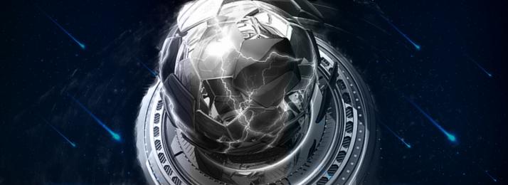 ब्लैक बैकग्राउंड कूल sci fi बैकग्राउंड टेक्नोलॉजी, बैनर, इवेंट प्रमोशन, लाइट इफेक्ट बैकग्राउंड पृष्ठभूमि छवि