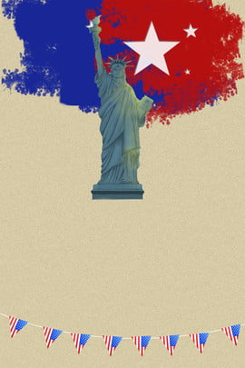 creative american independence day poster background , United States, Independence Day, Declaration Of Independence Background image