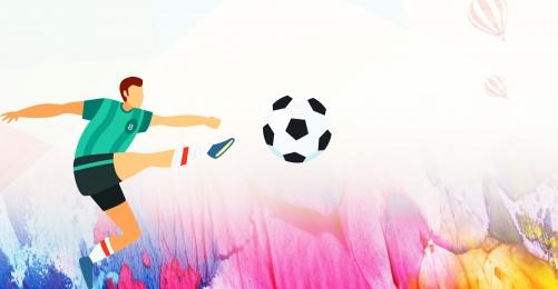 Football poster football training kids football sports Sports Material Football Imagem Do Plano De Fundo