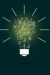 creative light bulb corporate display board background , Light Bulb, Creative, Earth Background image
