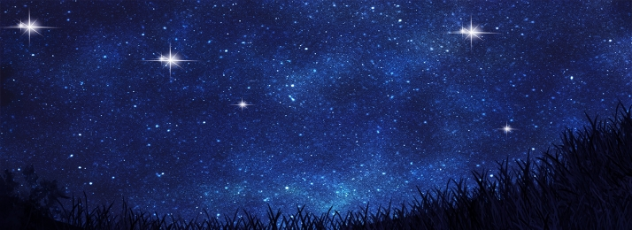 Fantasy Starry Night Scene Print, Fantasy Background, Starry Sky, Night Scene, Background image