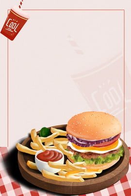 fast food gourmet french fries cola , Fast Food, Fast, Poster Imagem de fundo