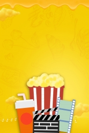 popcorn movie cinema movie , Cinema, Blockbuster, Popcorn Imagem de fundo