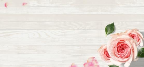 鮮花 花店 木紋 促銷, 木紋, 海報, 粉色 背景圖片