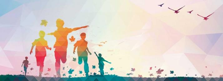 飛んでいる夢のポスター 若者の前向きなエネルギーのポスター 募集ポスター 夢の設定, 愛, 卒業パーティー, 子供たち 背景画像
