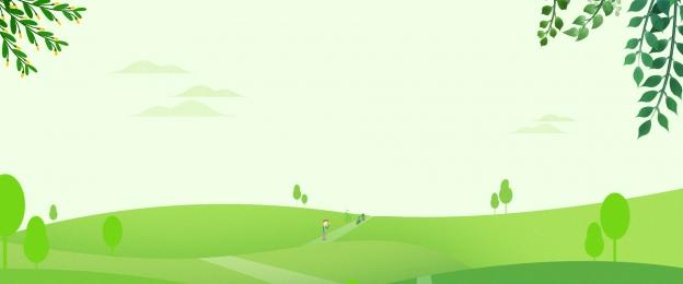 ताजा पृष्ठभूमि हरे हरे पत्ते वसंत, पत्तेदार, विज्ञापन, पानी की रेखाएं पृष्ठभूमि छवि