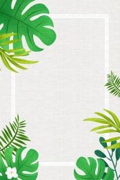 fresh green leaves border , Fresh, Leaves, Background ภาพพื้นหลัง