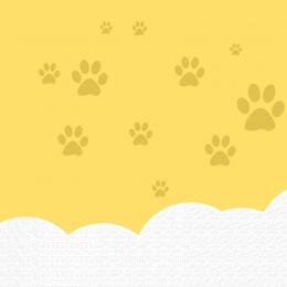 yellow background dog dog food childlike , Map, Taobao Main Picture, Promotion Imagem de fundo