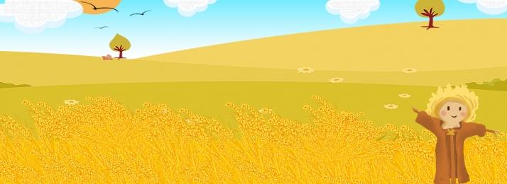 金色麥田免費下載 jpg 白色 白雲, 金色麥田免費下載, 白色, 收穫 背景圖片