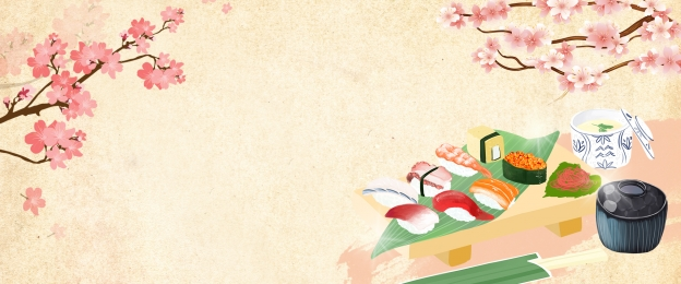 食物 美食節 美食 吃貨, 餐飲, 模板, 美食食物壽司背景素材 背景圖片