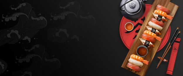 美食 日本 料理 壽司, 設計, 創意, 黑色 背景圖片