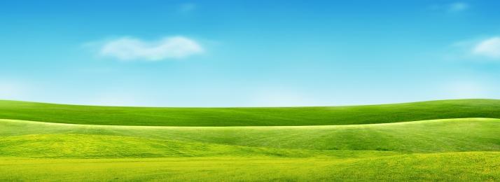 grassland sky white clouds grassland, Sky, Grassland, Grassland Imagem de fundo