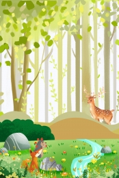 green fashion jungle adventure , Jungle Adventure, Jungle Adventure, Adventure Background image
