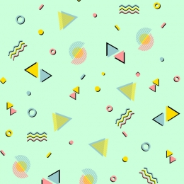 green background circular geometry geometric pattern wallpaper , Greeting Card, Tile Style, Wallpaper Фоновый рисунок