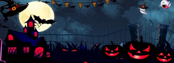 halloween alternative horror black banner, Halloween, Halloween Poster, Halloween Promotion Background image